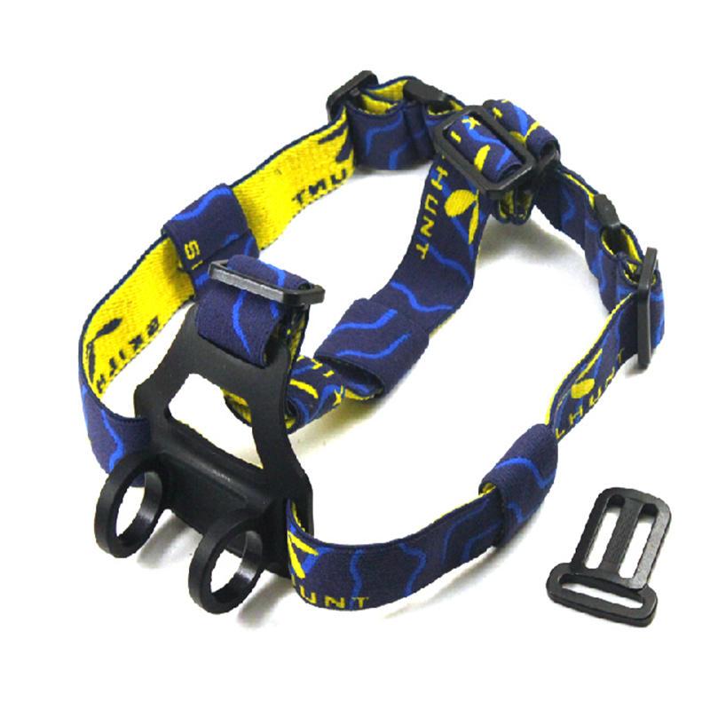 SKILHUNT High Quality Elastic Nylon Material Adjustable Detachable Flashlight Headband
