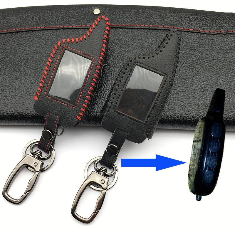 Praise Car Alarm Shape 100 Leather Case For Scher Khan Magicar Only Fit M5 Scher Khan