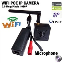 1080P wifi mini ip camera wifi POE camera mini ip 2.0MP wifi cctv security system video surveillance mini wireless home camme