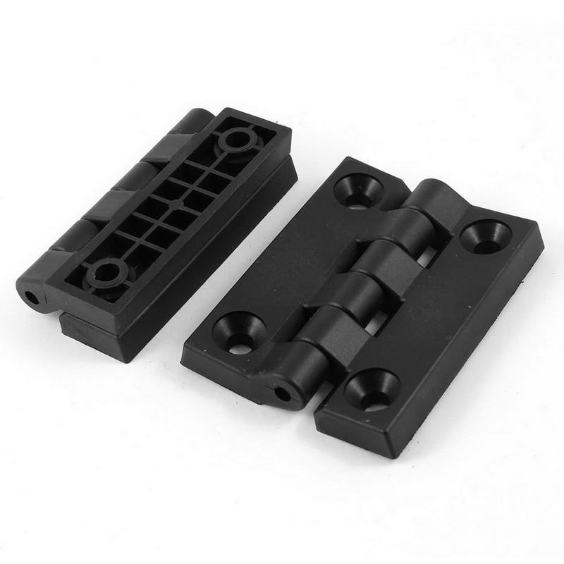 все цены на 1 pair of plastic hinges (102 * 80mm) black онлайн