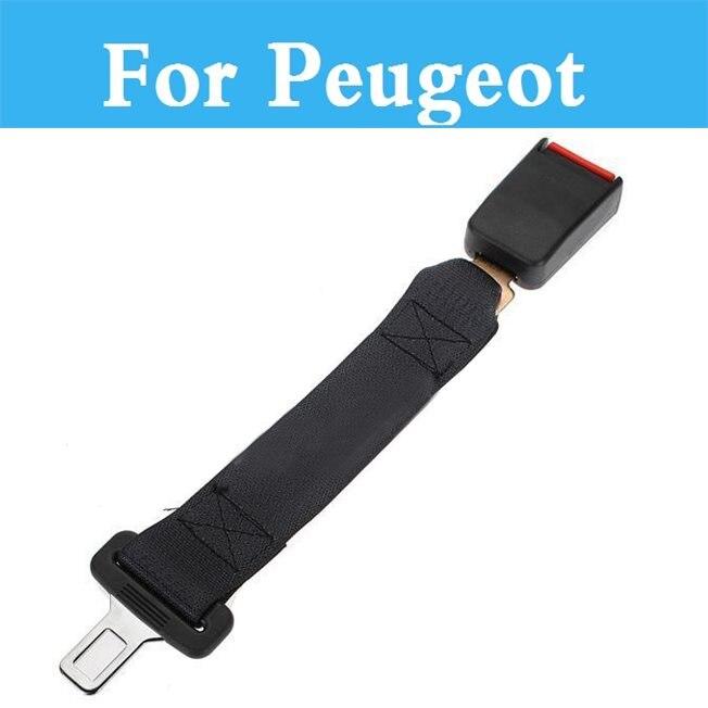 Seatbelt Car Seat Belt Extension Extender Strap Safety Buckle For Peugeot 301 307 3008 1007 107 108 2008 206 207 208 208 Gti