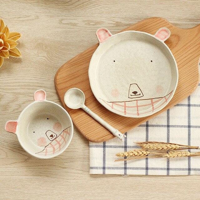 Chine Jingdezhen vaisselle de porcelaine enfants main peint de bande ...
