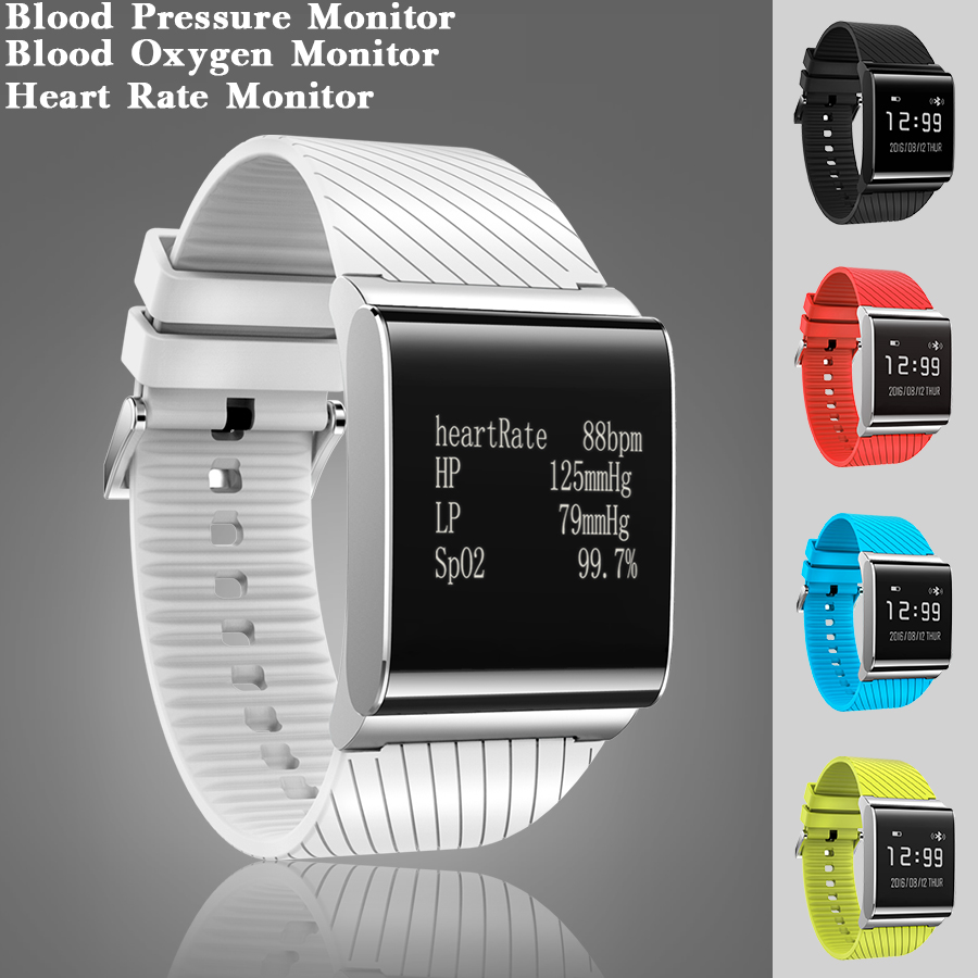 5 Colors Fashion Swim Connectivity Smart Watch Clock Blood Pressure Blood Oxygen