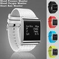 5 cores moda swim conectividade smart watch relógio pressão arterial de oxigênio no sangue monitor de freqüência cardíaca smartwatch para android ios