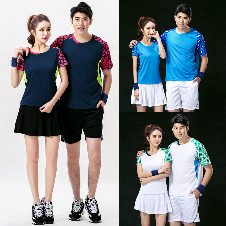 badminton shirt,table tennis breathable Absorb sweat badminton suits men women tennis Cl ...
