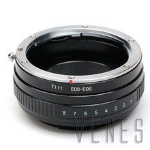 Pixco macro lente de inclinación juego de adaptador de montaje para canon ef lentes de montaje Cámara EOS 70D 650D 600D 5D Mark III 7D 550D 1200D 700D 100D