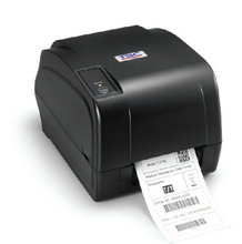 High precision thermal transfer label printer with 300dpi and newest commercial grade design barcode printer TSC T-310E