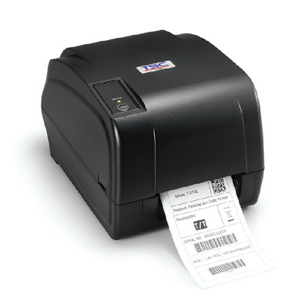 High precision thermal transfer label printer with 300dpi and newest commercial grade design barcode printer TSC T-310E newest original print head compatibility with tsc ttp247 barcode label printer