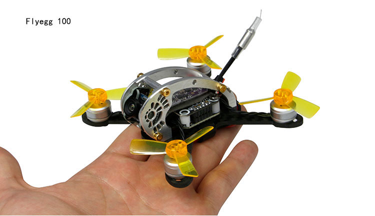 Flyegg 100/130 PNP Mini Intérieur Brushless Drone Quadcopter FPV ...