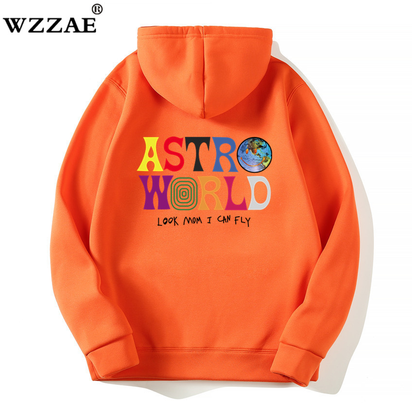 Fashion Letter ASTROWORLD HOODIE street wear Man woman Pullover Sweatshirt 4
