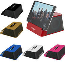 Wireless Bluetooth Stereo Rechargeable Speaker USB Interface Multi-functional Free Shipping H3T5
