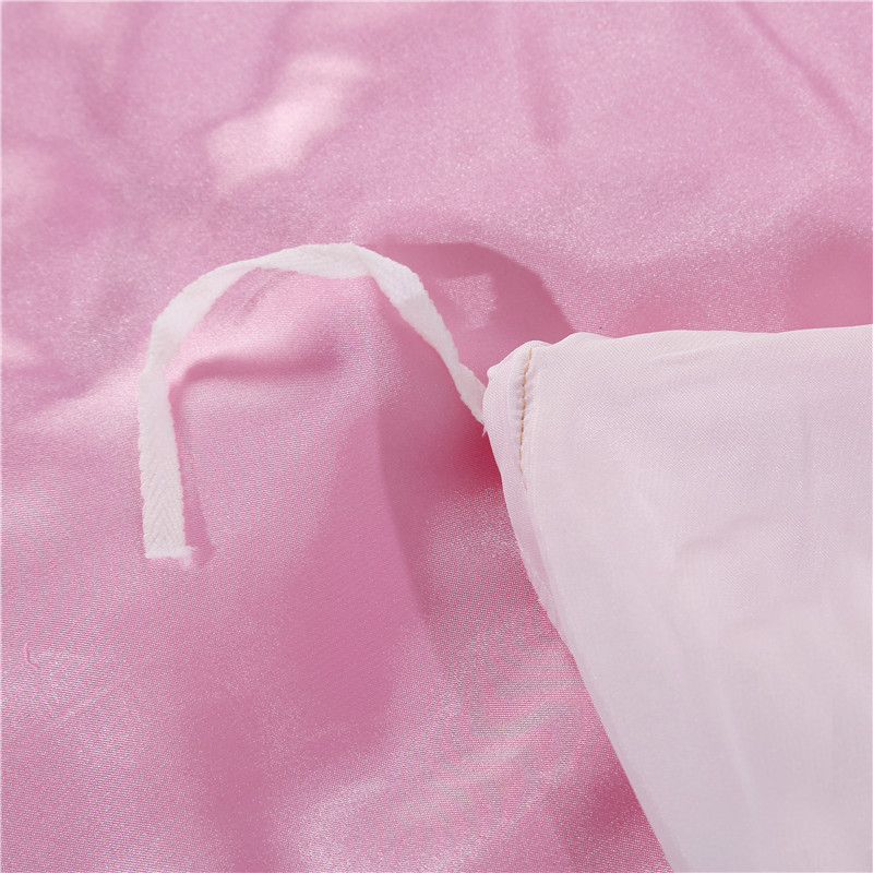 LOVINSUNSHINE Queen Comforter Bedding Sets Queen Size Bed Sheets Set Solid Color Silk Luxury Bedding Sets AB 83 in Bedding Sets from Home Garden