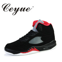 Ceyue 2017 New Basketball Shoes Men Air Cushion Jordan Basketball Shoe Damping Sport Shoes For Male