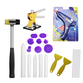 Dent Removal Glue Tabs Dent Repair Glue Tabs Paintless Dent Remover Tools Lifter Hand Tool Set PDR Tool full kit Herramentas цена 2017