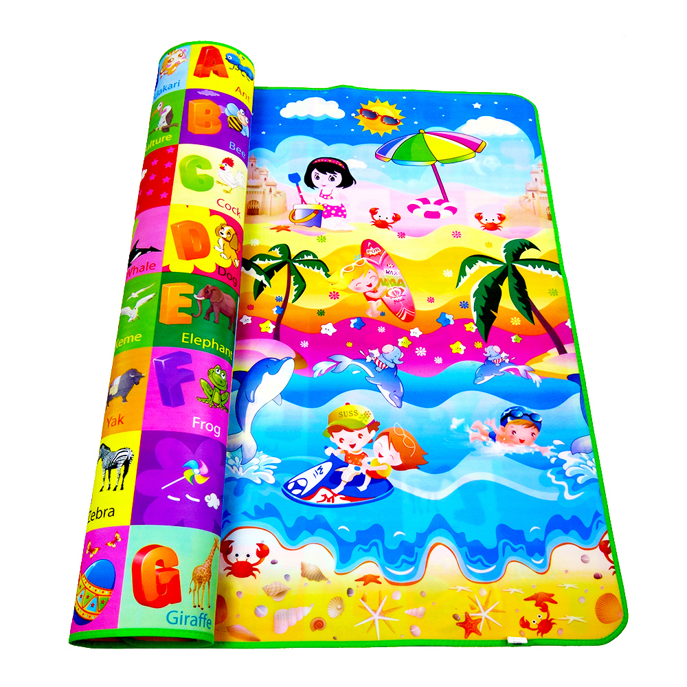 Baby Mat Double Side Baby Play Mat Eva Foam Developing Mat for Children Carpet Kids Toys Gym Game Rug Crawling Gym Playmat Gift 120cm play mat baby blanket inflant game play mats carpet child toy climb mat indoor developing rug crawling rug carpet blanket
