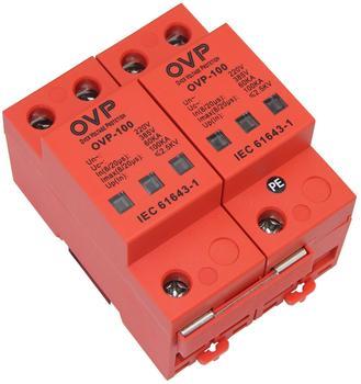 Class B 60KA80KA100KA power lightning protection module Single phase 220V machine room level 2P surge protector