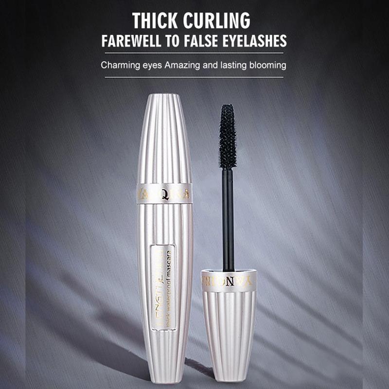 2019 1Pcs  3D Multi-functional Mascara Liquid Fiber Long Waterproof Lashes Eyelashes Curling Mascara Brush Makeup Tool