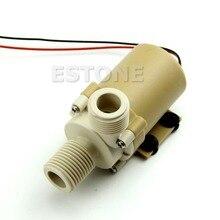 12 V/24 V DC солнечный циркуляционный насос горячей воды бесщеточный мотор для водяного насоса 5M 3M USB кабель
