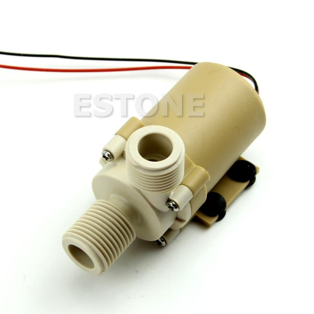 12V/24V DC Solar Hot Water Circulation Pump Brushless Motor 5M 3M New