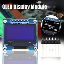 New OLED Display Module 0.96 inch 128X64 I2C IIC Serial LCD LED SSD Display Module SSD1306 LCD Screen Board 3 Color Choose 1pcs 1 3 oled module white blue color 128x64 1 3 inch oled lcd led display module 1 3 iic i2c communicate
