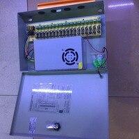 Kamera 18CH DC12V 20A Stromversorgung Verteilerkasten Cctv Überwachungskamera Für Led-streifen String Licht POWER
