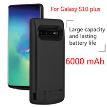 6000 mAh Portable Back clip battery For Samsung Galaxy S10 plus fast charger battery cover For Galaxy S10 Lite mobile power Case