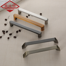 AOBT American Style Cabinet Handles Brushed 128mm 96mm Kitchen Cupboard Pulls Drawer Knobs Furniture Handle Door Hardware 6081