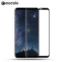 MOCOLO dla LG V30 Pełny Ekran Kompletna Zasłony Arc Krawędzi W Pełnym Rozmiarze Szkło Hartowane Screen Protector for LG V30