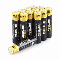 12x AAA Battery Ni-MH 1.2V 1100MAH AAA Rechargeable Battery Batteries 3A Bateria akku + 3x Battery Hold Cases