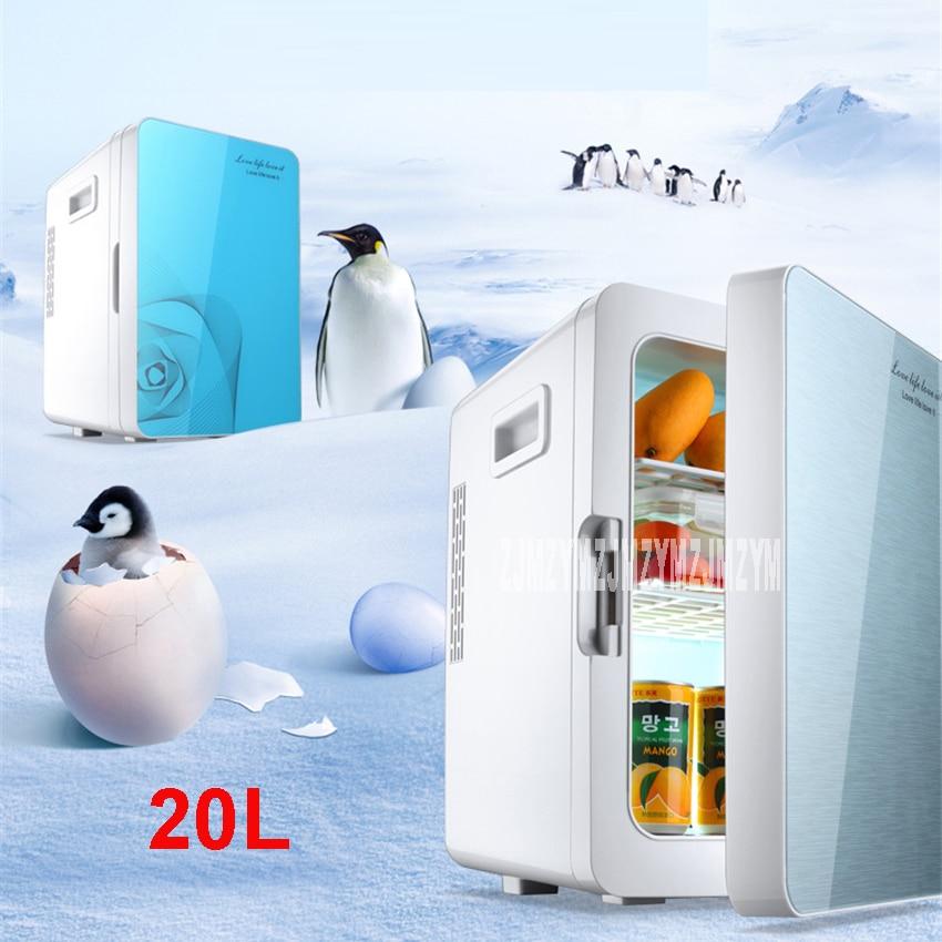 F-L18SA Portable Freezer 20 L Mini Fridge Refrigerator Car Home A Dual Use Compact Car Fridge 12/220 V Temperature Variations