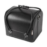 Beauty Vanity Makeup Cosmetic Box Case Nail Polish Storage Make up Box