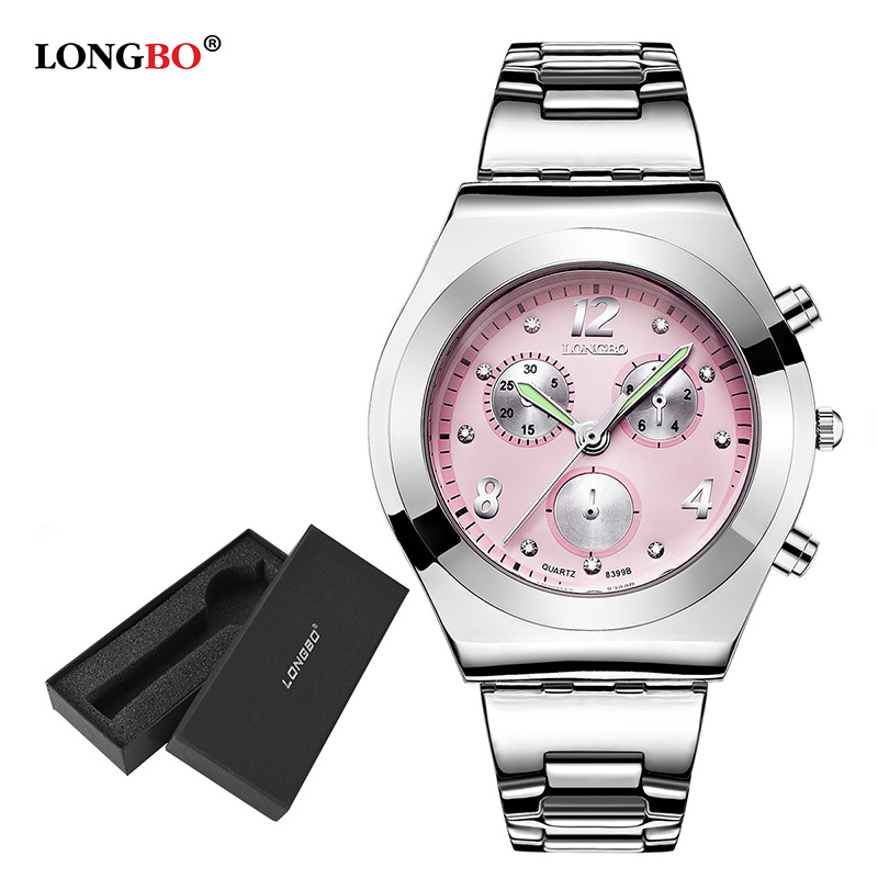 Fashion Longbo Brand Luxury Casual Dress Women Watches Lady Quartz Watch With Gift Box Relogio Feminino Montre Femme Reloj Mujer