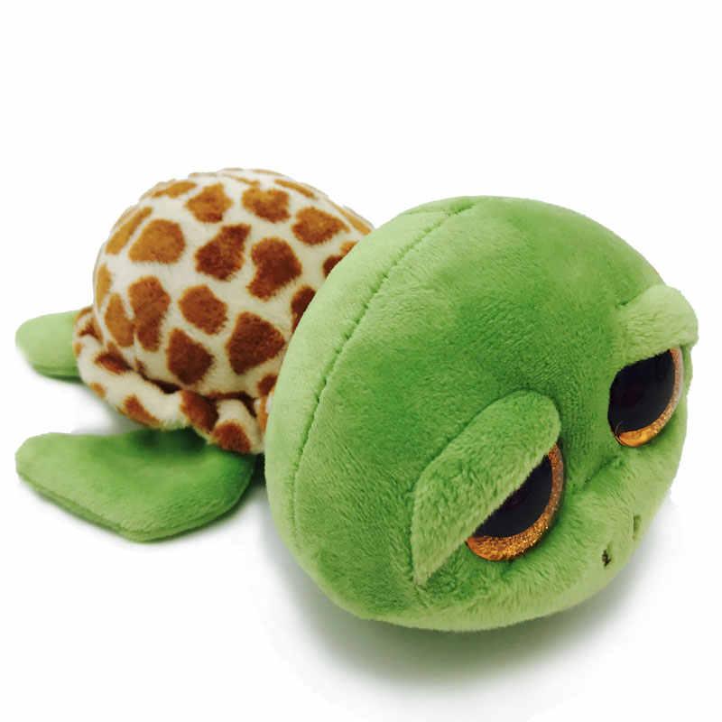 Simplock Ty 15 см большой глаз Beanie Boo серия Ty плюшевый игрушечная черепаха морской конек Золотая рыбка уплотнение кукла набивной единорог животные Bing игрушки