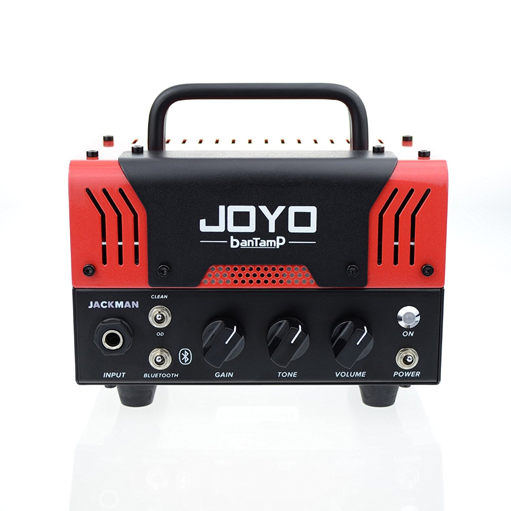 цена на JOYO JACKMAN 20 Watt Mini Tube Head New banTamp Series  Guitar Amplifier Amp Speaker