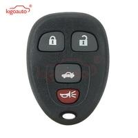 KIGOAUTO 521A T04A KOBGT04A 4 Button for Buick LaCrosse Chevrolet Malibu  Remote Fob Case Shell cover Car Key     -
