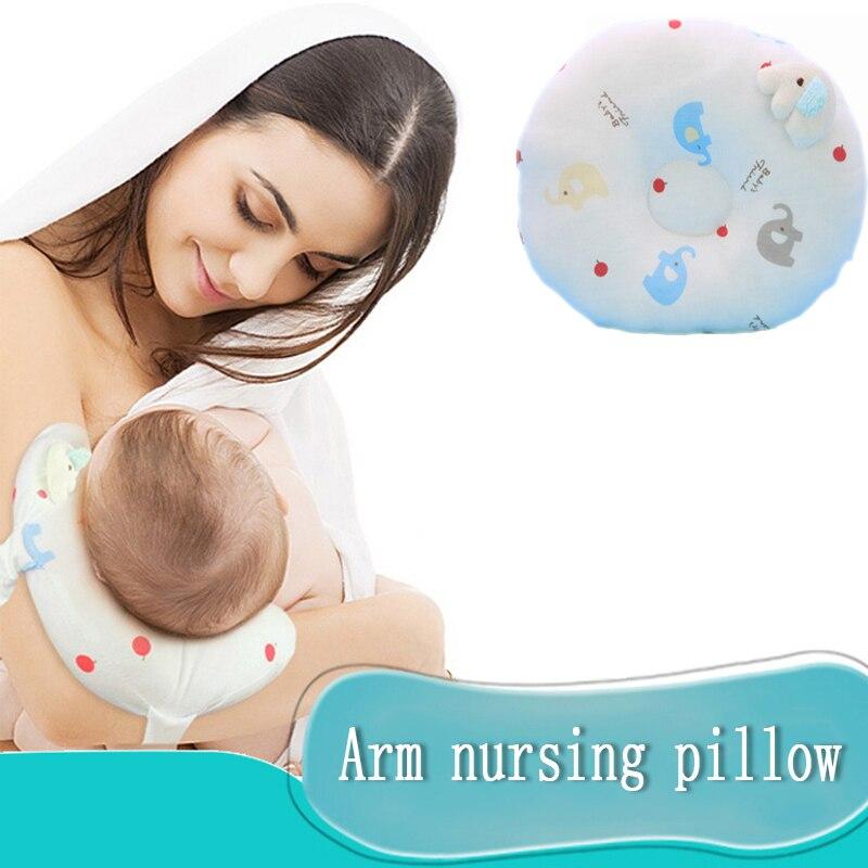 Bébé multifonction alimentation allaitement oreiller infantile allaitement oreiller bébé Cartton oreiller protéger bras soutien coussin pour maman