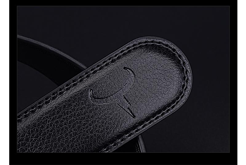 حزام COWATHER جلد طبيعي للرجال 21