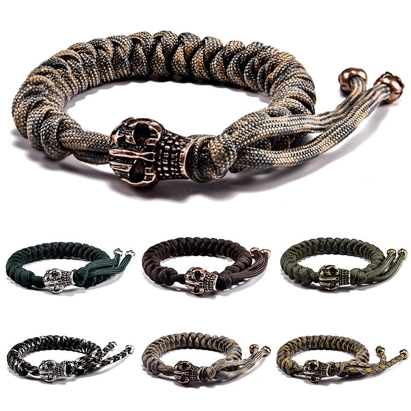 Wholesale 5pcs*7 Strand Survival Military Weave Bracelet Cord Buckle Luggage & Bags Purple