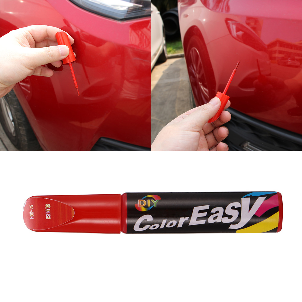 Car Colors Fix Coat Paint Pen Touch Up Scratch Clear Repair Remove Tool 5 Colors