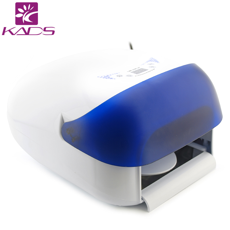 KADS 36w Auto Sensor Nail Art Curing Salon UV Gel Curing Lamp Dryer Including 4 Bulbs