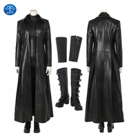 New Underworld Blood Wars Selene Cosplay Costume Women Halloween Costumes For Adult Vampire Selena Jumpsuit Sexy Leather Costume
