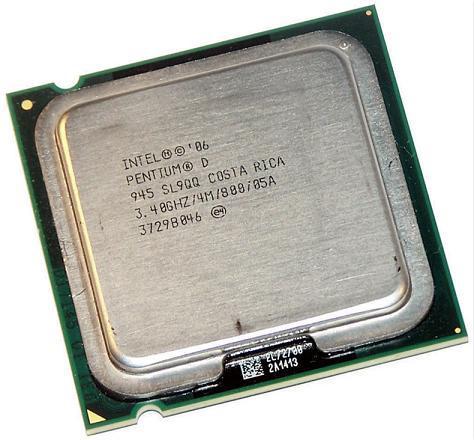 Intel Pentium D 945 Dual Core 3.4GHz CPU 800MHz LGA775//Socket T Processor