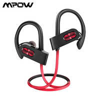 Mpow Flame 2 IPX7 auricular impermeable Bluetooth 5,0 auriculares inalámbricos 13H Playtime Sport auricular para Iphone X 7 Huawei Xiaomi