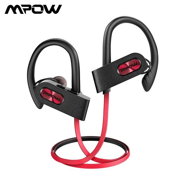 Mpow flamme 2 IPX7 étanche écouteur Bluetooth 5.0 sans fil casque 13H Playtime Sport écouteur pour Iphone X 7 Huawei Xiaomi
