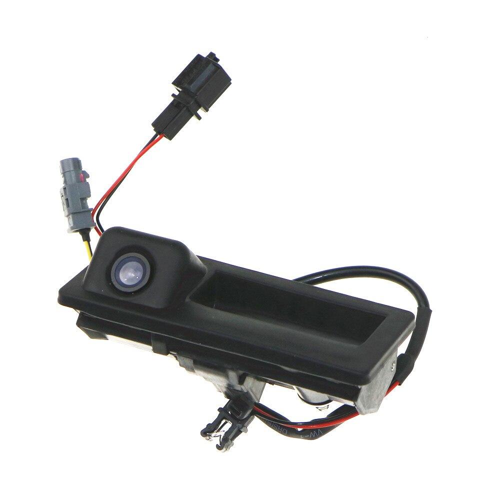 12V Parking RGB Reversing Video Camera For VW Tiguan A4 A6 Q5 RNS510 RCD510 5ND 827 566 C 5N0 827 566C 5ND827566C