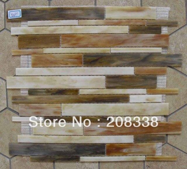 US $199.0 |VETRO MOSAICO TIFFANY BAGNO CUCINA TORNA SPLASH MURO, mattonelle  di mosaico per pavimenti, piastrelle a parete in VETRO MOSAICO TIFFANY ...