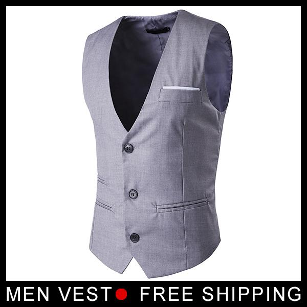 Nova lista Mens Terno Colete de Alta qualidade Men Cabido Lazer Colete Casual Jacket Negócios Tops coletes à prova de vestido Formal