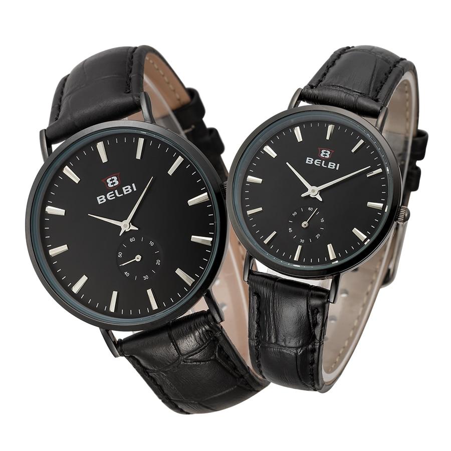 2016 BELBI Fashion Brand watch Quartz Watch For Men Women Lover Wrist Watches Reloj Hombre Relogio Montre Orologio Uomo Horloge