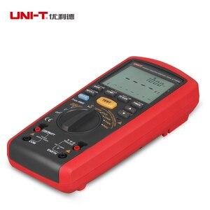 Image 2 - Medidor Digital portátil de 1000V, valores eficaces auténticos, medidor de resistencia de aislamiento, multímetro, Ohm, voltímetro, UNI T, UT505A