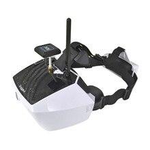 Walkera 40CH 5 Pulgadas Diversidad FPV Gafas Goggle 4 5.8G bulit-en la batería 7.4 V 1200 mAh Li-Po RC Quadcopter Multicopter de Helicóptero Partes